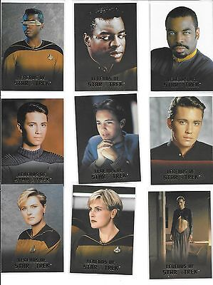 2007 CBS Studio Legends of STAR TREK Complete 9 (1622/1701) Card