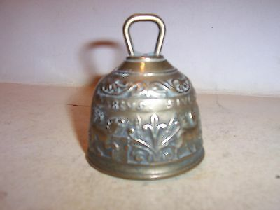 Vintage  Brass Sanctuary  Hand    Bell