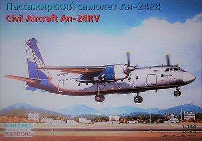 EASTERN EXPRESS 14462 Civil Aircraft An-24RV (Aeroflot Nord) in 1:144