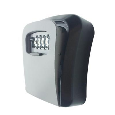 Outdoor Wall Mounted Safe Key Box With Lock Waterproof Cover Home/ Car/ Keys