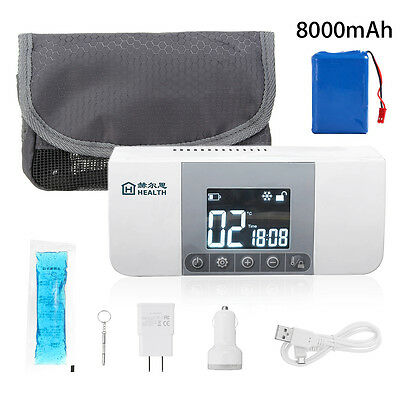 Portable RechargeableMedicine Fridge Refrigerator Insulin Cooler Box Case Reefer