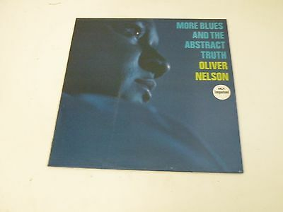 Oliver Nelson - More Blues And The Bastract Truth - Lp Jasmine Records - Ois