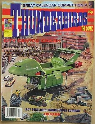 Thunderbirds the Comic Issue 27 from October 1992