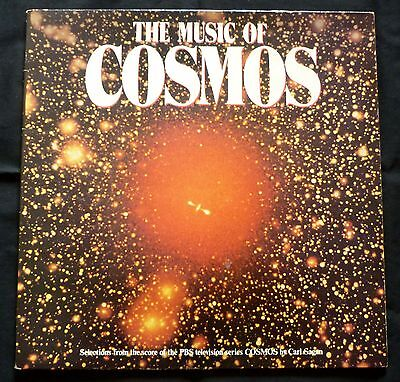 CARL SAGAN music of cosmos RCA 1981 LP space synth soundtrack