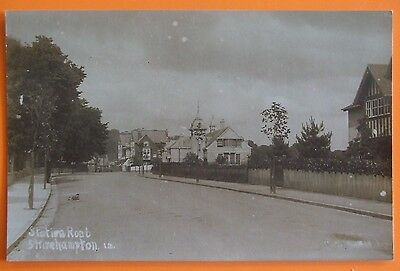 RP Postcard c.1915 STATION ROAD SHIREHAMPTON BRISTOL
