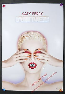 Katy Perry Witness 2017 Taiwan Promo Poster NEW
