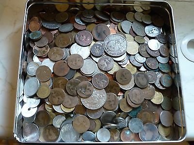 Job Lot 4.6 Kg Of Mainly British Used Coins Coin Hunt