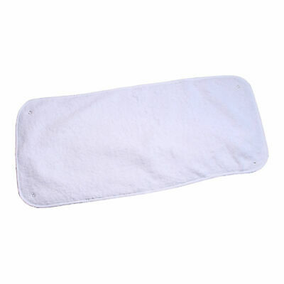 New Clair De Lune White 100% Cotton Towelling Changing Mat Toppers (2 Pack)