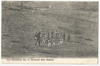 Old Early Postcard 'Los Penitentes' No 2 Northern New Mexico