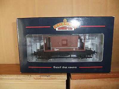 Bachmann 33-350B 20 Ton Brake Van Fitted BR Bauxite, boxed