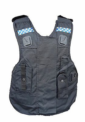 Ex Police Male Global Armour Body Armour Cover Tactical Vest  !COVER ONLY!