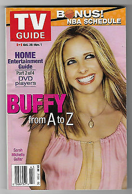 Buffy the Vampire Slayer 2002 Canadian Edition TV Guide