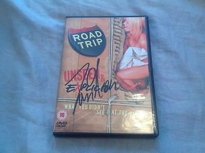 Tom Green Hand Signed Dvd Road Trip Explicit Movie Mtv Coa Comedy Actor