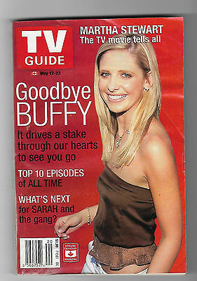 Buffy the Vampire Slayer 2003 Canadian Edition TV Guide