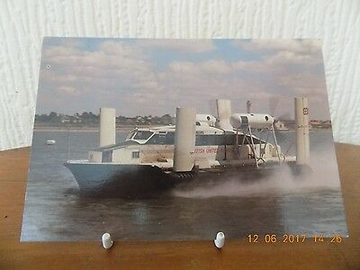"""Real Photo Postcard """"carriage Of Mail By Hovercraft  (Unused)"""