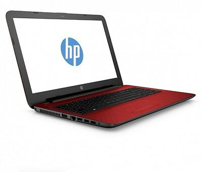 "HP 14-AN013NA 14"" Laptop AMD A6-7310 8GB RAM 1TB HDD Win.10 -Red"