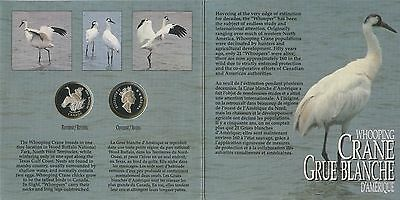 GN259 - Kanada Set 2 x 50 Cents 1995 Puffin Proof PS30