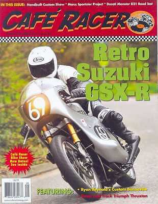 CAFE RACER USA No.40 A-September 2015 (NEW COPY)  *Post included to UK/Europe/US