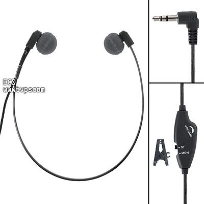 ECS WHUC3.5 Antimicrobial WordHear-O 3.5 mm Under-chin Transcription Headset