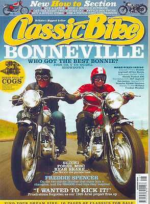 CLASSIC BIKE-AUGUST 2010(NEW)*Post Included To UK/Europe/USA/Canada