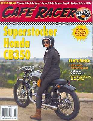 CAFE RACER USA No.39 J-July 2015 (NEW COPY)  *Post included to UK/Europe/USA