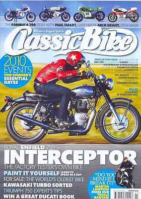CLASSIC BIKE-MARCH 2010(NEW)*Post Included To UK/Europe/USA/Canada
