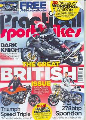 PRACTICAL SPORTSBIKES N.68-70,80,90's Bikes(NEW)*Post included to UK/Europe/USA