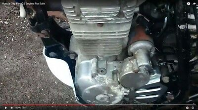 2000 Honda City Fly CLR 125 - Complete Running Engine (See Video!)