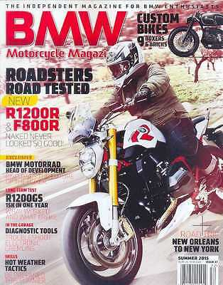BMW Motorcycle  No.27 Summer 2015 (NEW COPY)*Post included to UK/Europe/USA