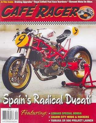 CAFE RACER USA No.22 A/Sept 2012 (NEW COPY)  *Post included to UK/Europe/USA