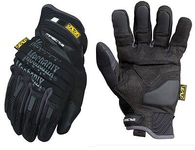 Mechanix Wear MP2-05-010 Men's Black M-Pact 2 Gloves 4mm XRD Impact Pad - L