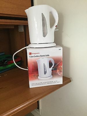 Kingavon 1 litre Cordless Electric Kettle