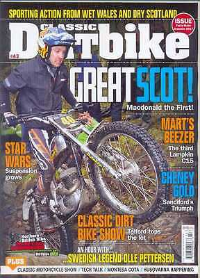 CLASSIC DIRT BIKE-No.43-(NEW COPY) *Post included to UK/Europe/USA/Canada