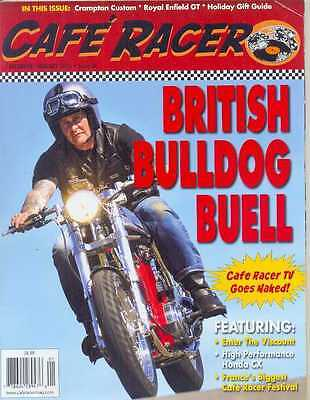 CAFE RACER USA No.36 D-January 2015 (NEW COPY)  *Post included to UK/Europe/USA