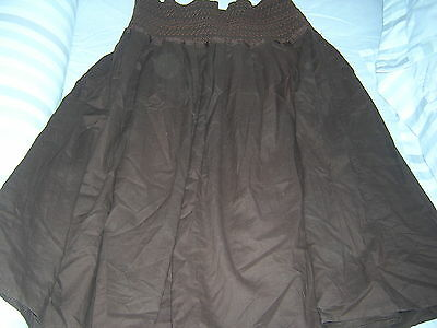 blooming marvellous gypsy style  Maternity Skirt Size 12