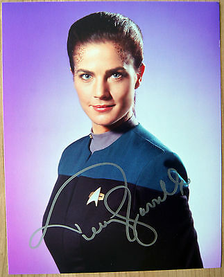 Autogramm 20x25cm TERRY FARRELL (Star Trek Deep Space Nine) *handsigniert* COA