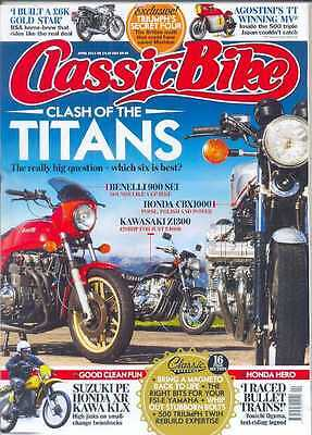 CLASSIC BIKE-April 2014- (NEW)*Post Included To UK/Europe/USA/Canada