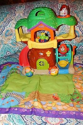 Playskool Weebly Wobbly Weebles Wobbles Tree House Playset Weebles & Playmat
