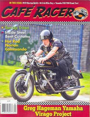 CAFE RACER USA No.46 A-September 2016 (NEW COPY) *Post included to UK/Europe/USA