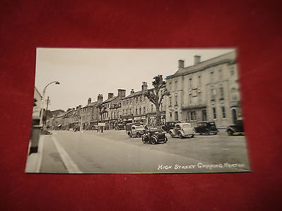 VINTAGE OXFORDSHIRE: CHIPPING NORTON High Street RP b&w PACKER CARS