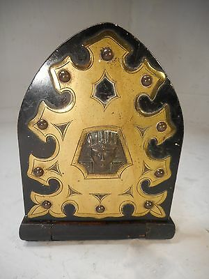 Antique Coromandel Extending Book Slide , Pharoah , Book Ends      ref 2082