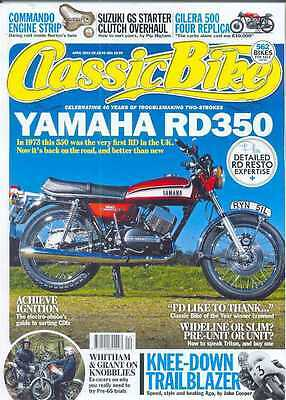 CLASSIC BIKE-April 2013 - (NEW)*Post Included To UK/Europe/USA/Canada