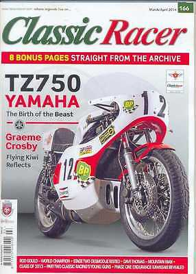CLASSIC RACER No.166 M/Apr 2014(NEW COPY)*Post included to UK/Europe/USA/Canada
