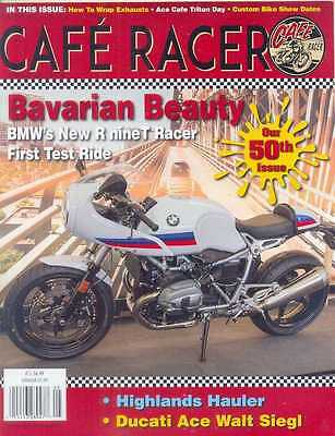 CAFE RACER USA No.50 A-May 2017 (NEW COPY) *Post included to UK/Europe/USA