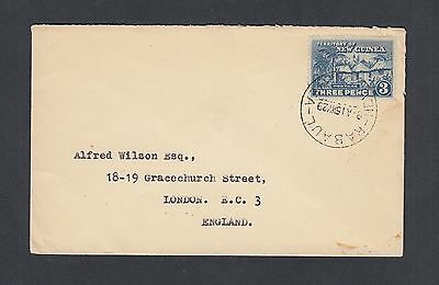 New Guinea 1929 3D Cover Rabaul To London England