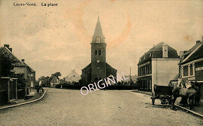 CPA 59 - LEERS-NORD - La Place