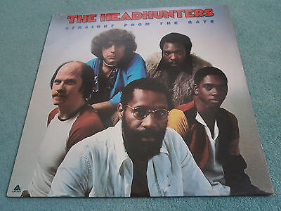 The Headhunters Straight From The Gate Jazz Funk Soul Fusion Arista Ab4146 Vinyl