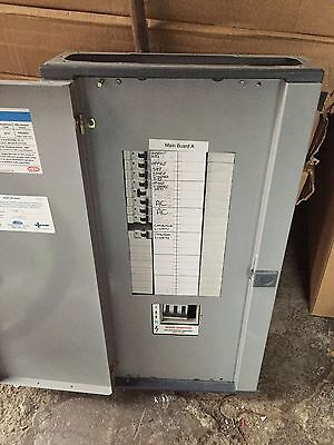 Eaton MEM Memshield 2 12 Way 3 Phase Distribution Board with MCBs Lot 4