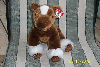 Ty Beanie Buddies Clydesdale  Hoofer 2002 Retired Nwt