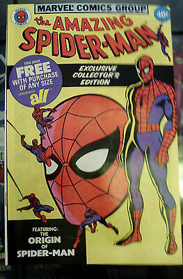 The Amazing Spider-Man All Detergent giveaway 1979, Marvel NM+ 9.6 origin